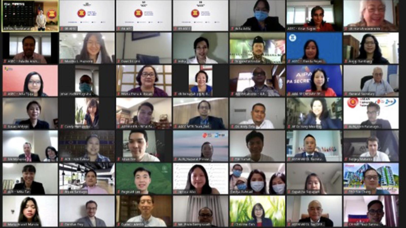 ASEAN và các thực thể liên kết hợp tác trong bối cảnh đại dịch
