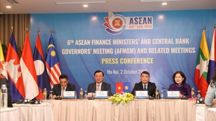 ASEAN finance ministers, central bank governors convene meeting