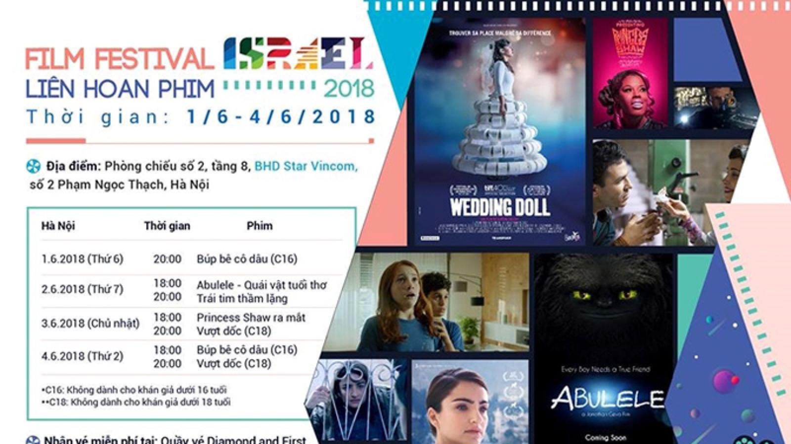 Hanoi, HCM City to host Israel Film Festival 2020