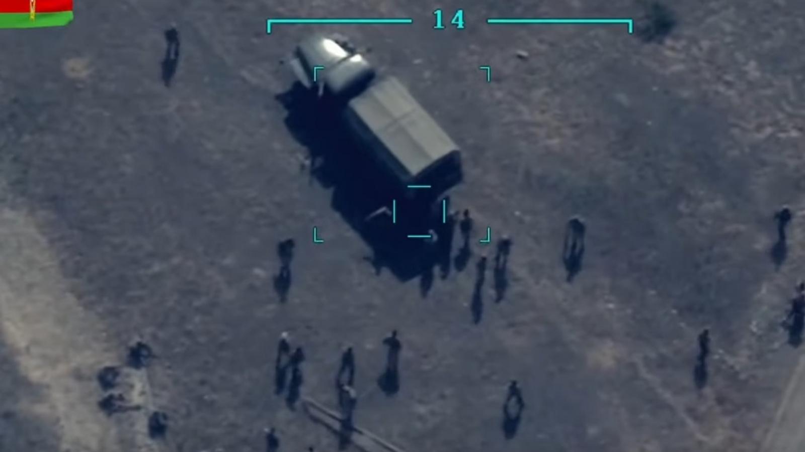 Ám ảnh cảnh Azerbaijan dùng UAV  tấn công các vị trí của Armenia ở Karabakh