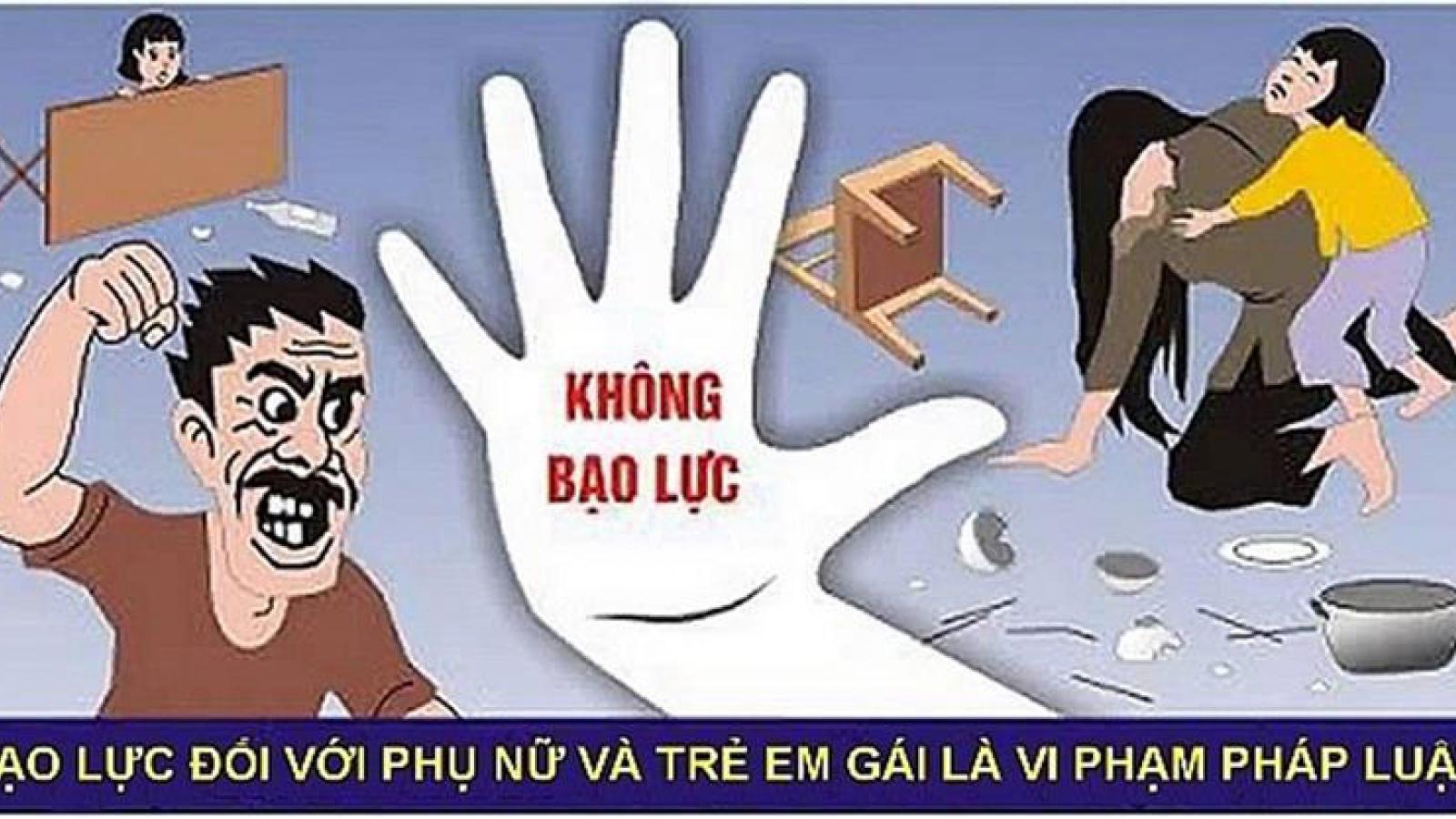 Chung tay chấm dứt bạo lực đối với phụ nữ và trẻ em