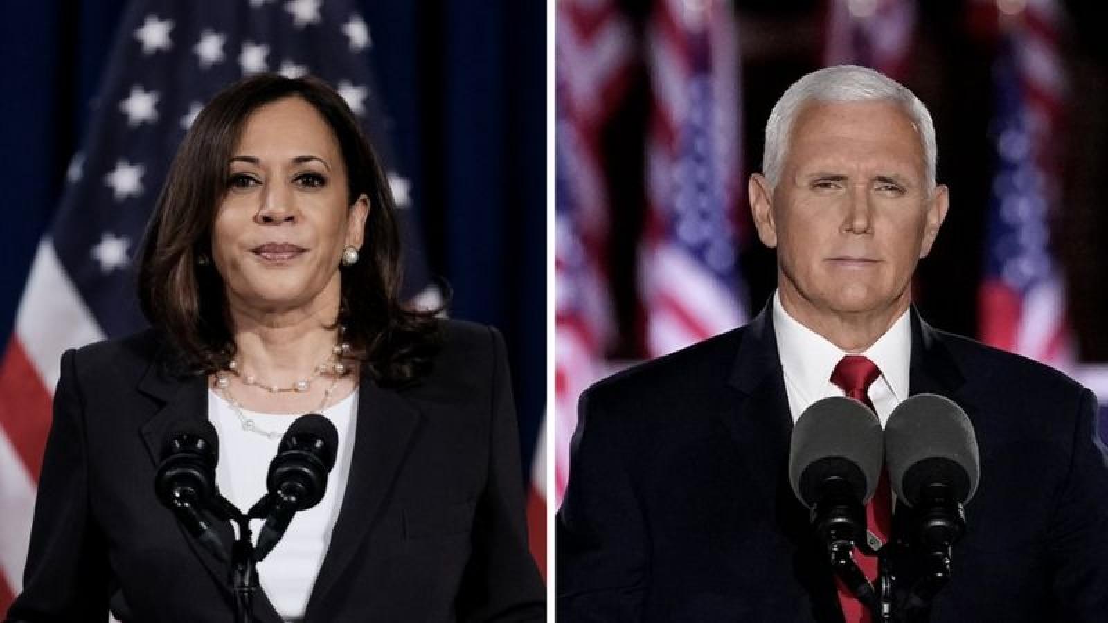 Tác động của cuộc tranh luận phó tổng thống đến bầu cử Mỹ 2020