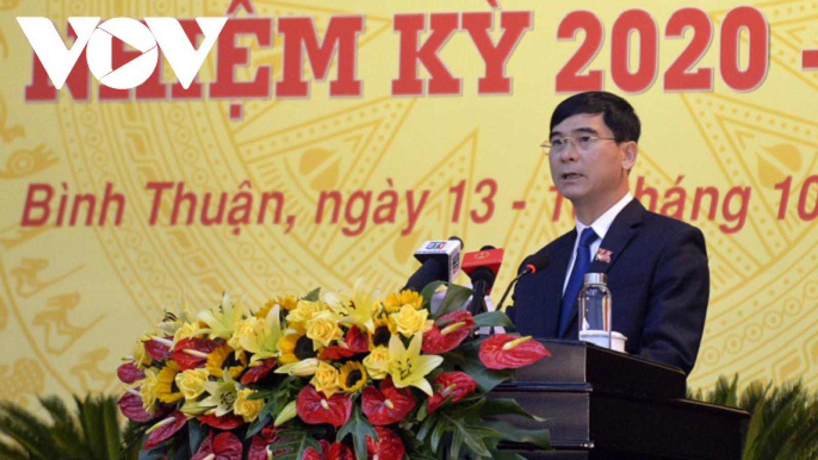 Phó Bí thư Tỉnh ủy Bình Thuận được bầu làm Bí thư Tỉnh ủy