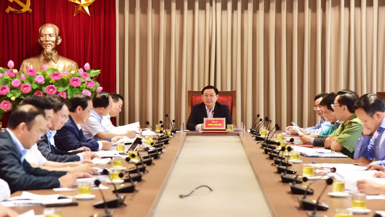 Bí thư Thành ủy Hà Nội yêu cầu giải quyết dứt điểm Khu xử lý chất thải Sóc Sơn