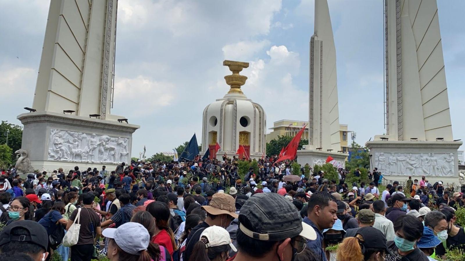 Biểu tình lớn lại nổ ra tại Thái Lan