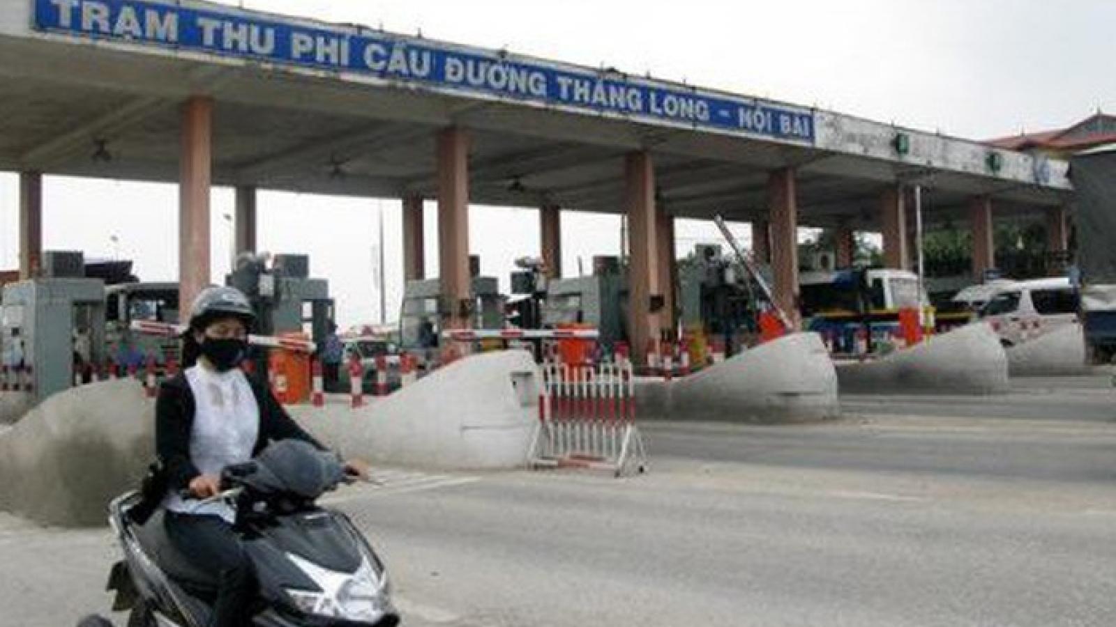 Cử tri Hà Nội lại kiến nghị dỡ bỏ trạm thu phí Bắc Thăng Long - Nội Bài