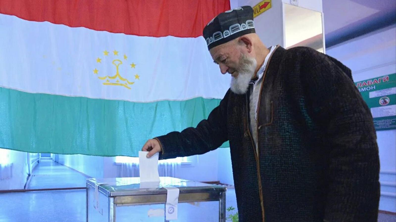 Bầu cử Tổng thống lần thứ 6 tại Tajikistan