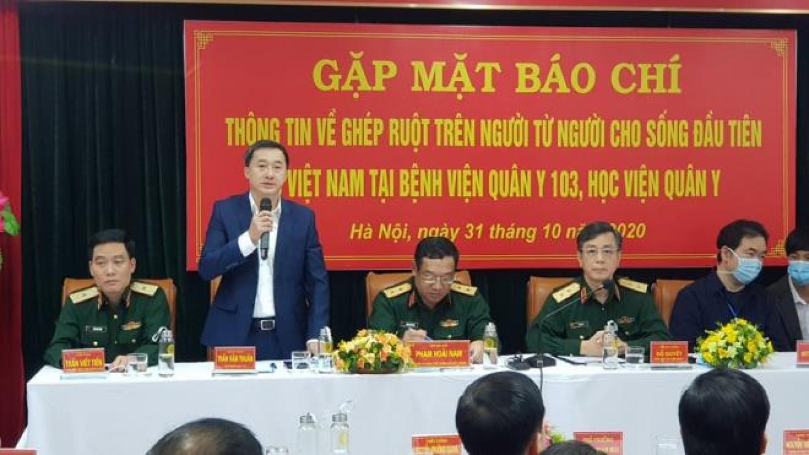 Việt Nam thực hiện ghép ruột thành công cho 2 bệnh nhân