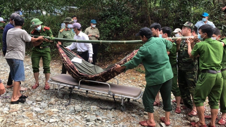 13 bodies recovered from power plant landslide site