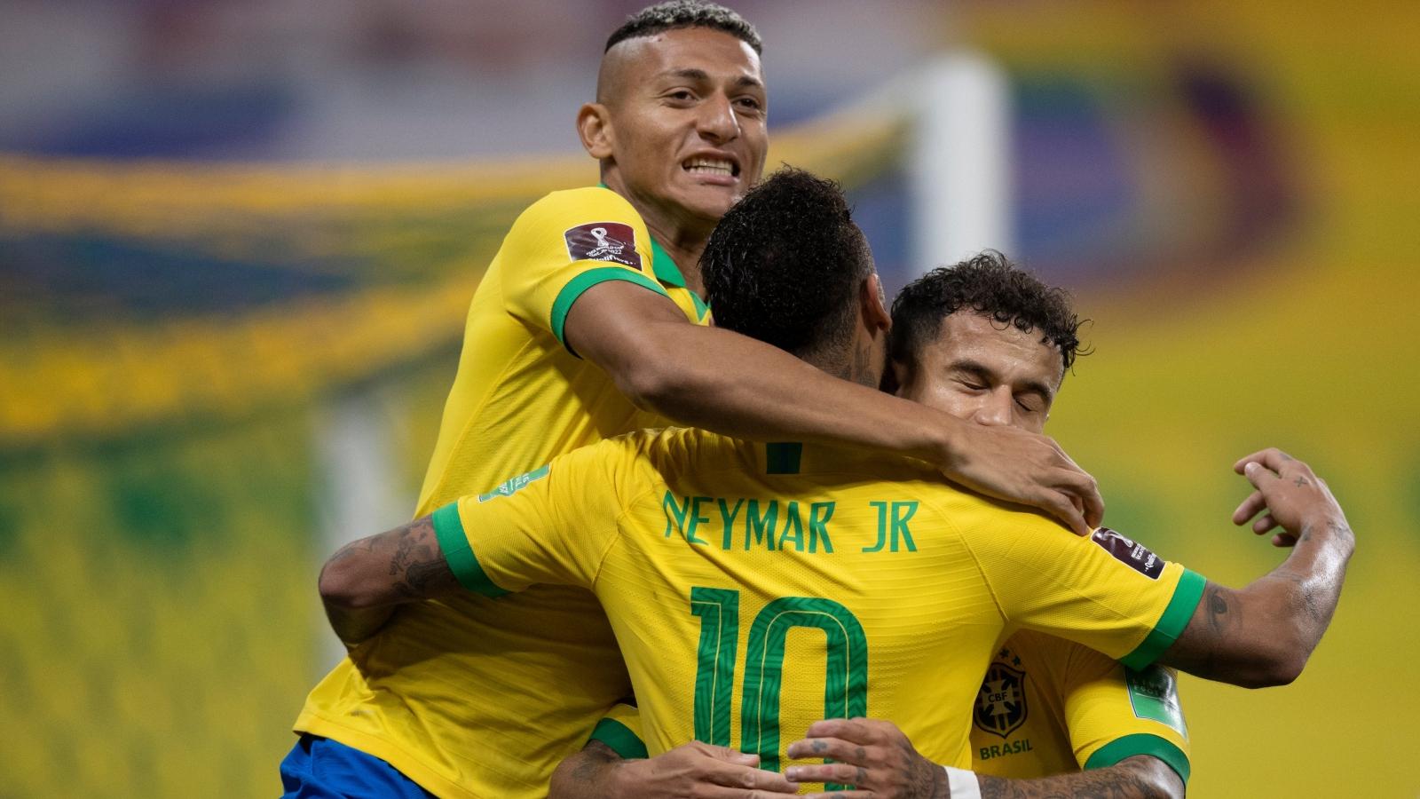 """Thắng """"5 sao"""" trước Bolivia, Brazil khởi đầu tưng bừng ở Vòng loại World Cup"""