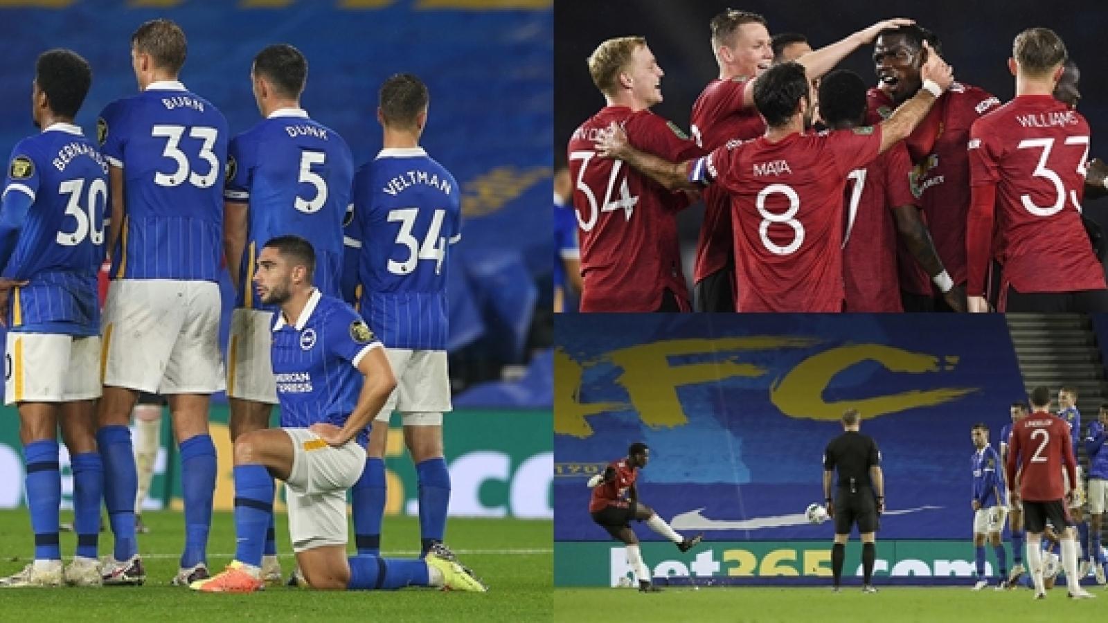 """Số phận """"trêu ngươi"""" sao Brighton trong 2 trận thua liên tiếp trước MU"""