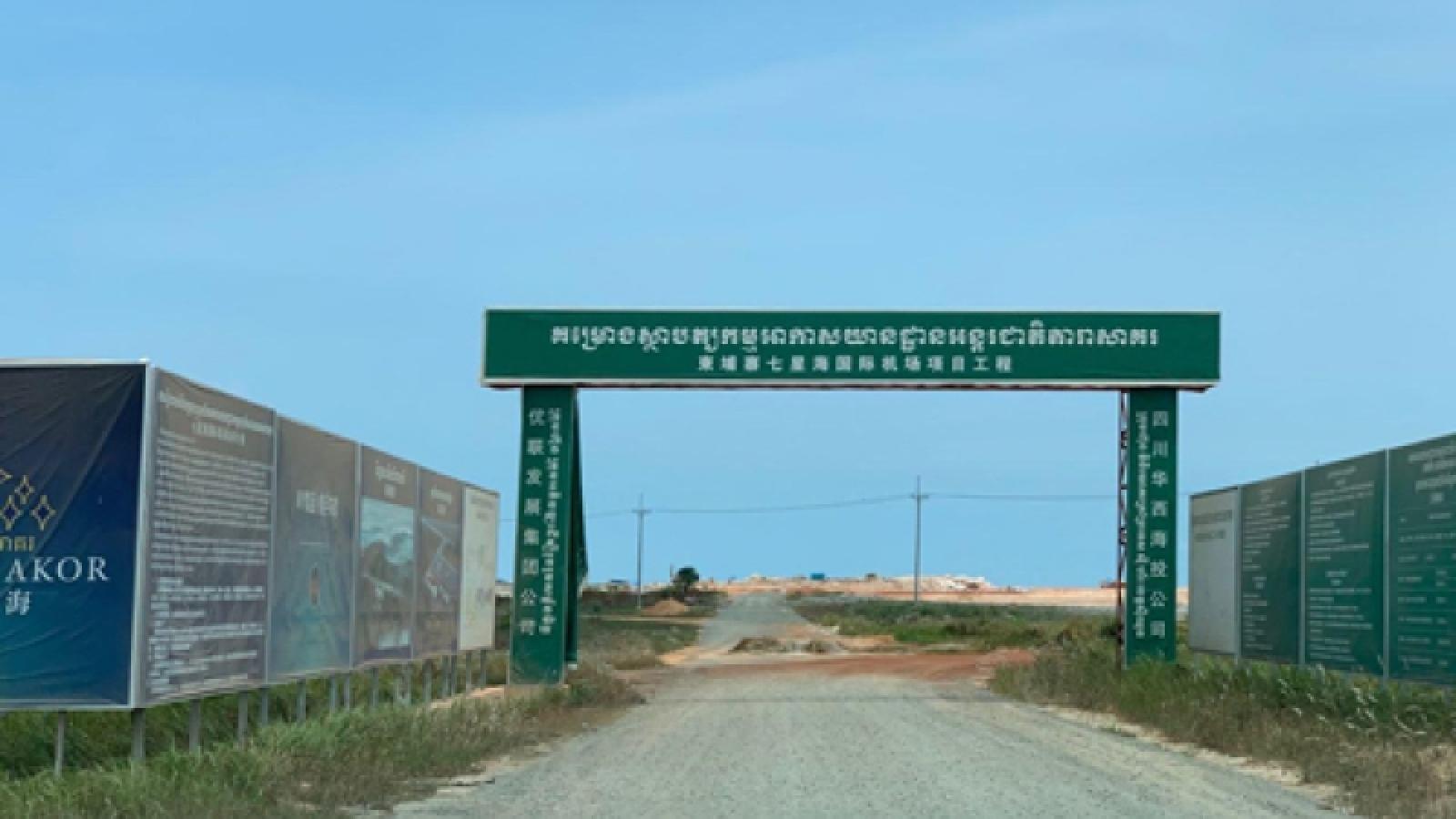 Thêm một dự án phục vụ Vành đai và Con đường của Trung Quốc được mở bán ở Campuchia
