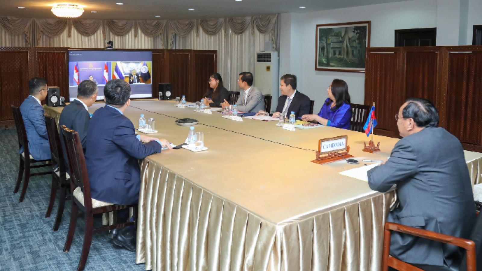 Campuchia và Thái Lan mở thêm cửa khẩu chính và cửa khẩu quốc tế