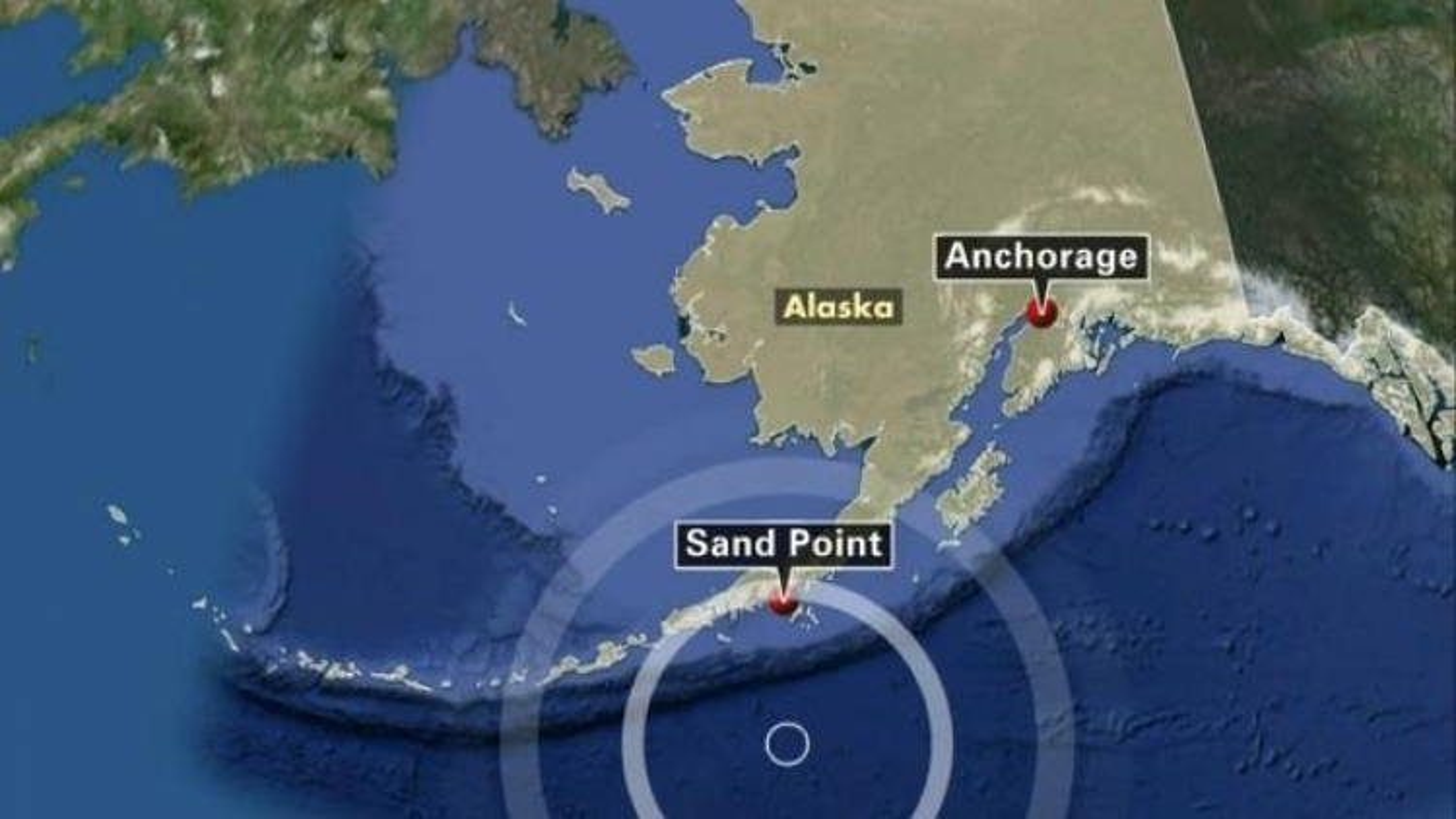 Động đất gây cảnh báo sóng thần ở Alaska, Mỹ