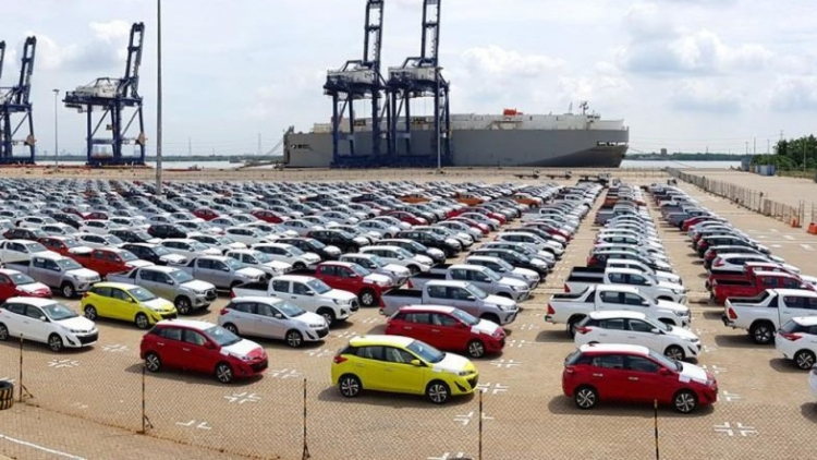Car imports suffer steep drop in September