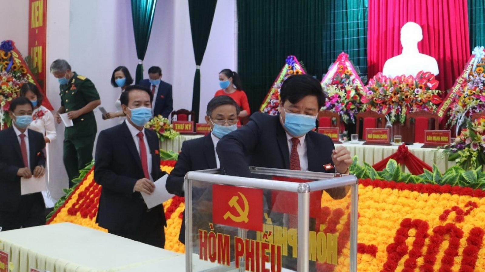 Các cấp uỷ Đảng ở Quảng Trị ký cam kết trách nhiệm người đứng đầu