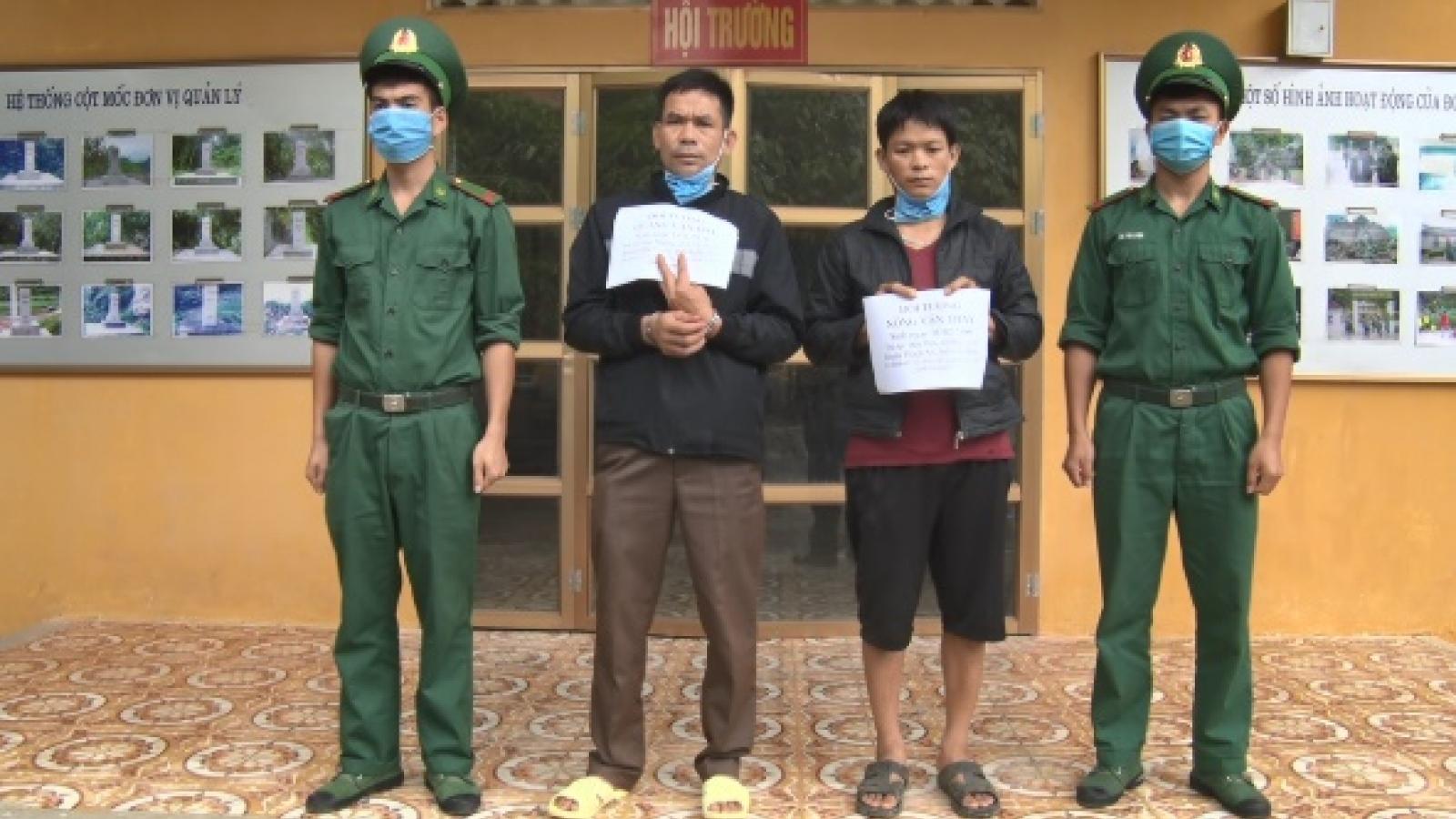 Cao Bằng bắt giữ 2 đối tượng tổ chức xuất cảnh trái phép