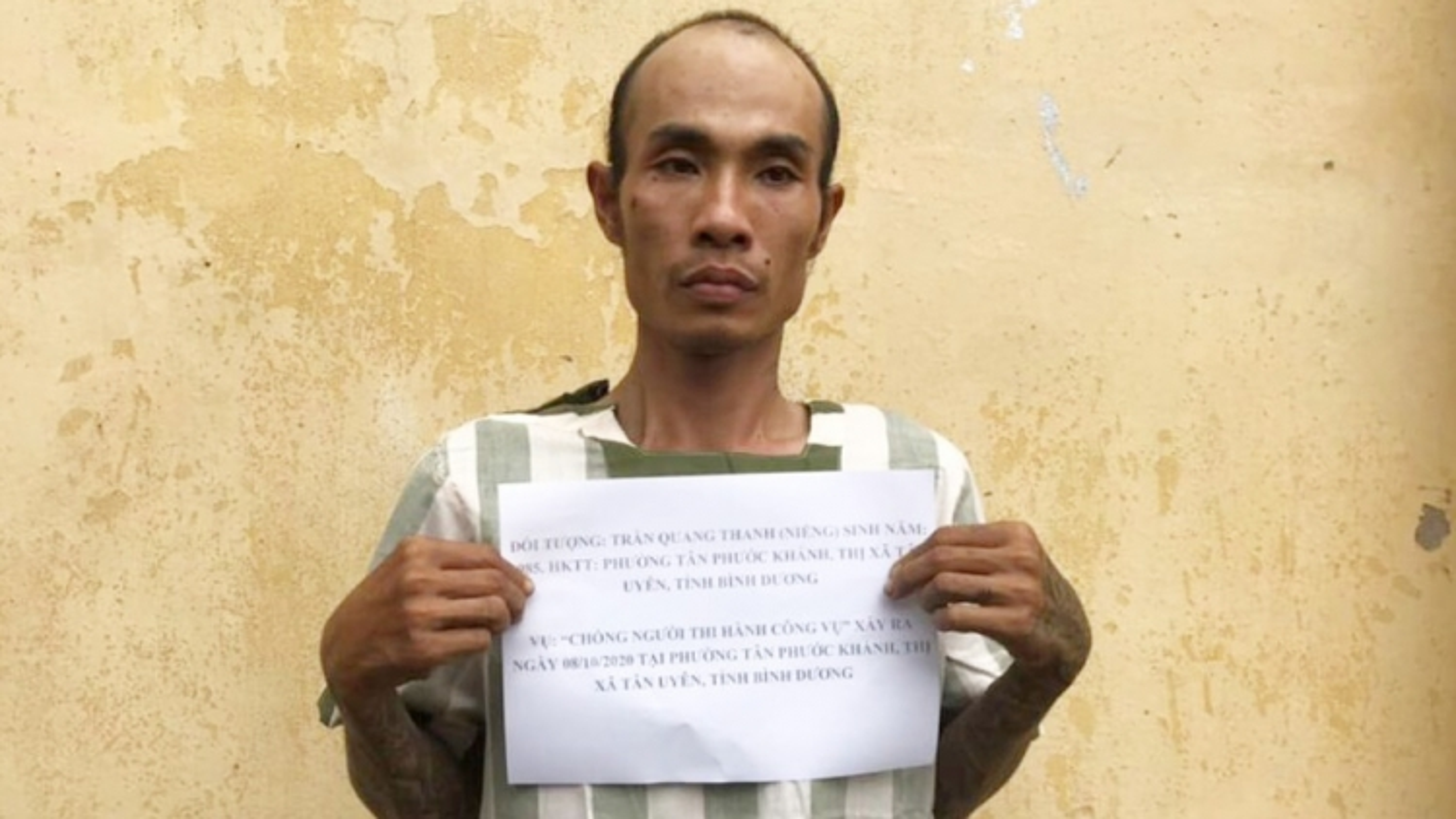 Điều tra vụ 2 anh em ruột dùng hung khí chống người thi hành công vụ ở Bình Dương