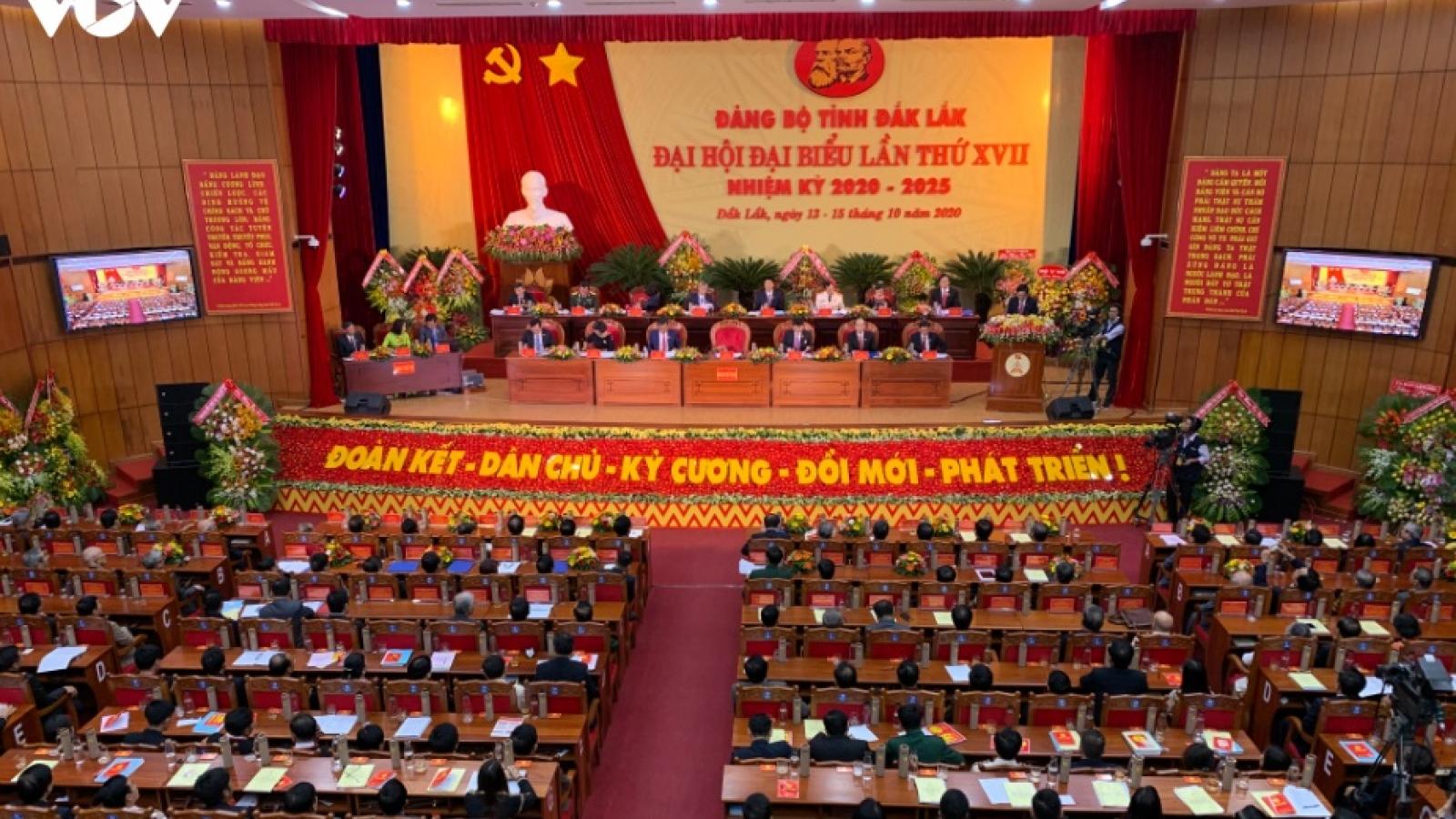 Phó thủ tướng Phạm Bình Minh dự và chỉ đạo Đại hội Đảng bộ tỉnh Đăk Lăk