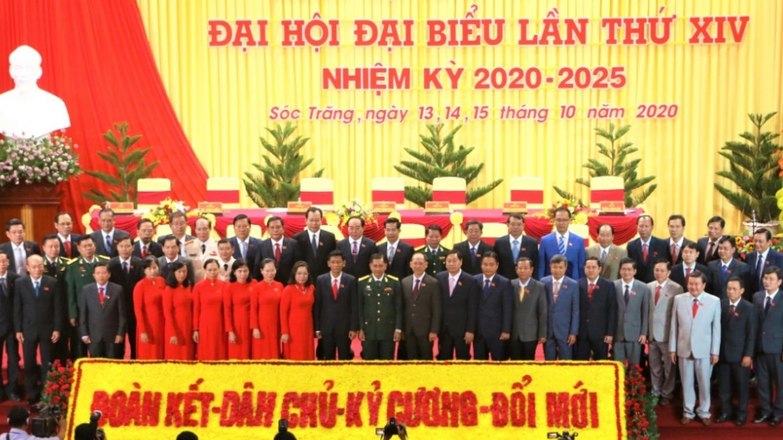 Bế mạc Đại hội Đảng bộ tỉnh Sóc Trăng lần thứ XIV