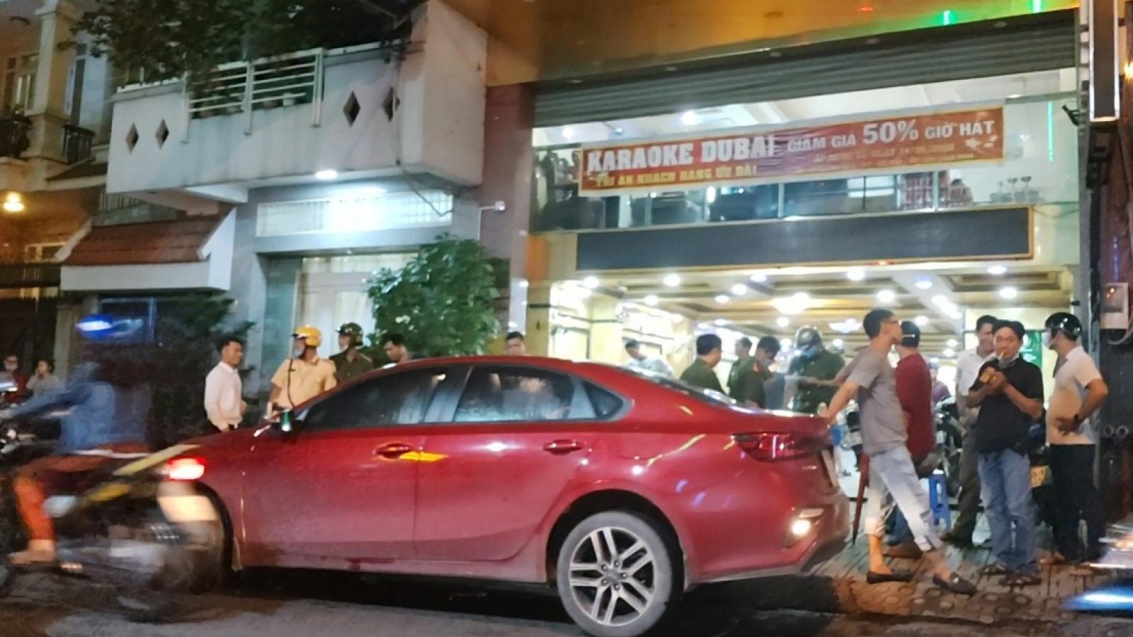 Xử lý nhóm đánh nhau tại quán karaoke ở TPHCM