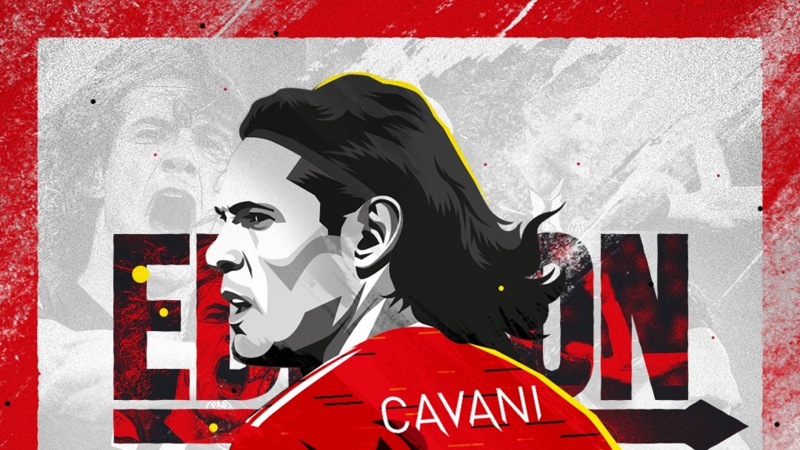 Tân binh Cavani có nguy cơ lỡ trận ra mắt MU vì Covid-19