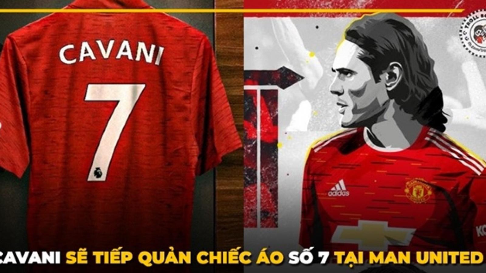 Biếm họa 24h: Cavani chịu gánh nặng nghìn cân từ chiếc áo số 7 của MU