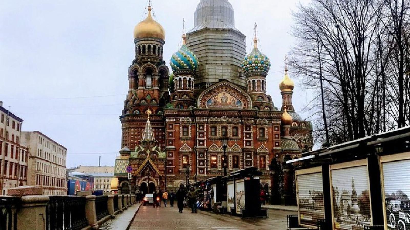 Nga mất 7 tỷ USD do thiếu khách du lịch nước ngoài
