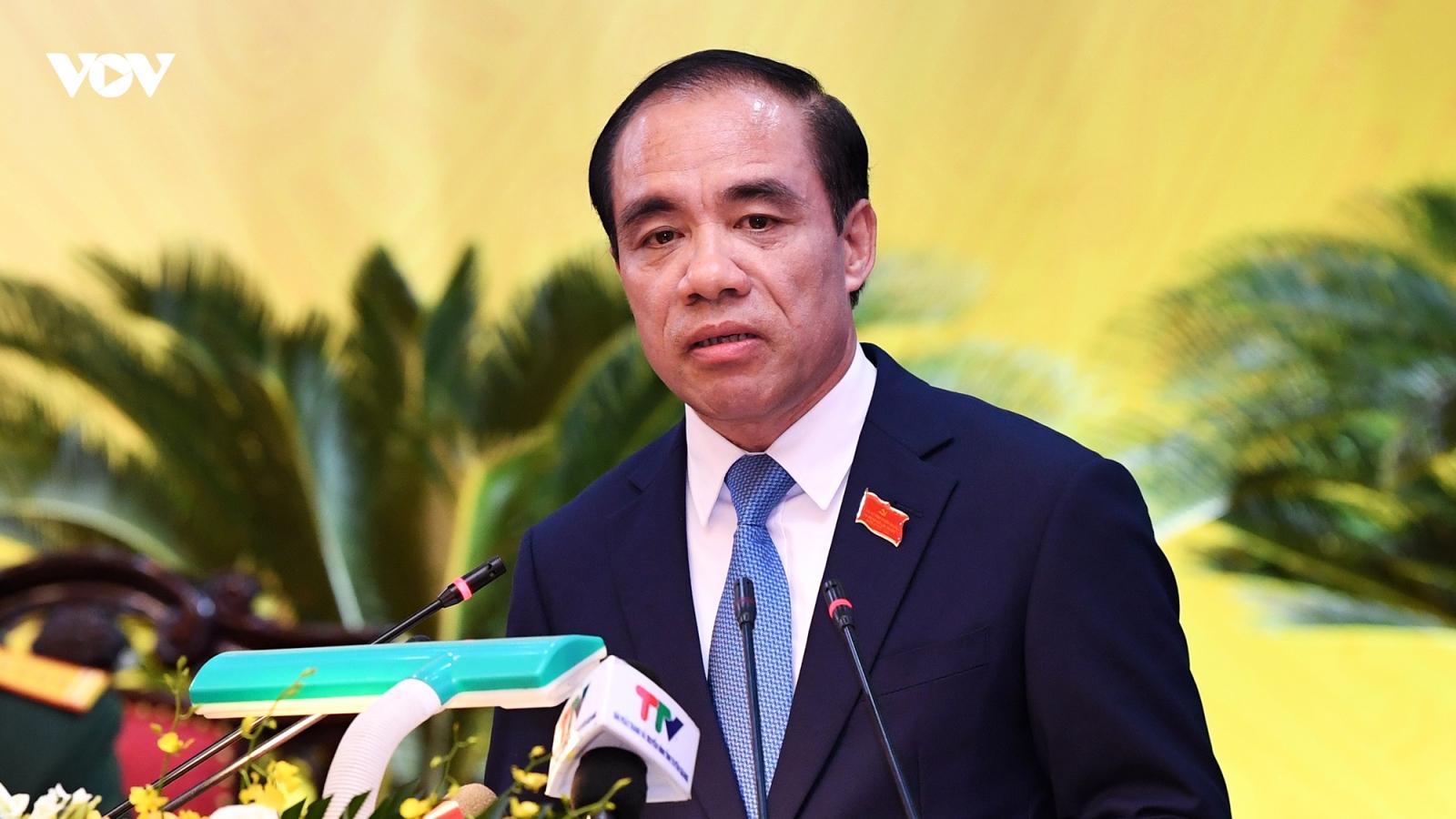 Ông Chẩu Văn Lâm được bầu làm Bí thư Tỉnh ủy Tuyên Quang