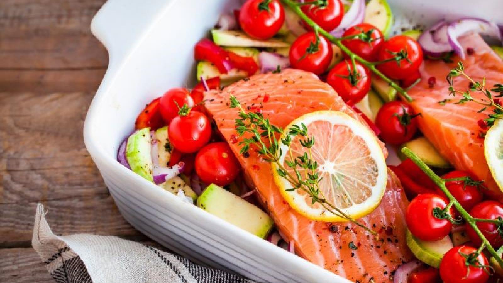 Chế độ ăn Địa Trung Hải giúp giảm cân, giảm mỡ bụng và bảo vệ tim mạch