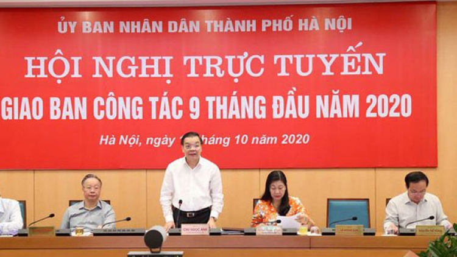"""Chủ tịch TP Hà Nội Chu Ngọc Anh: Thực hiện mục tiêu """"kép"""" là nhiệm vụ hàng đầu"""