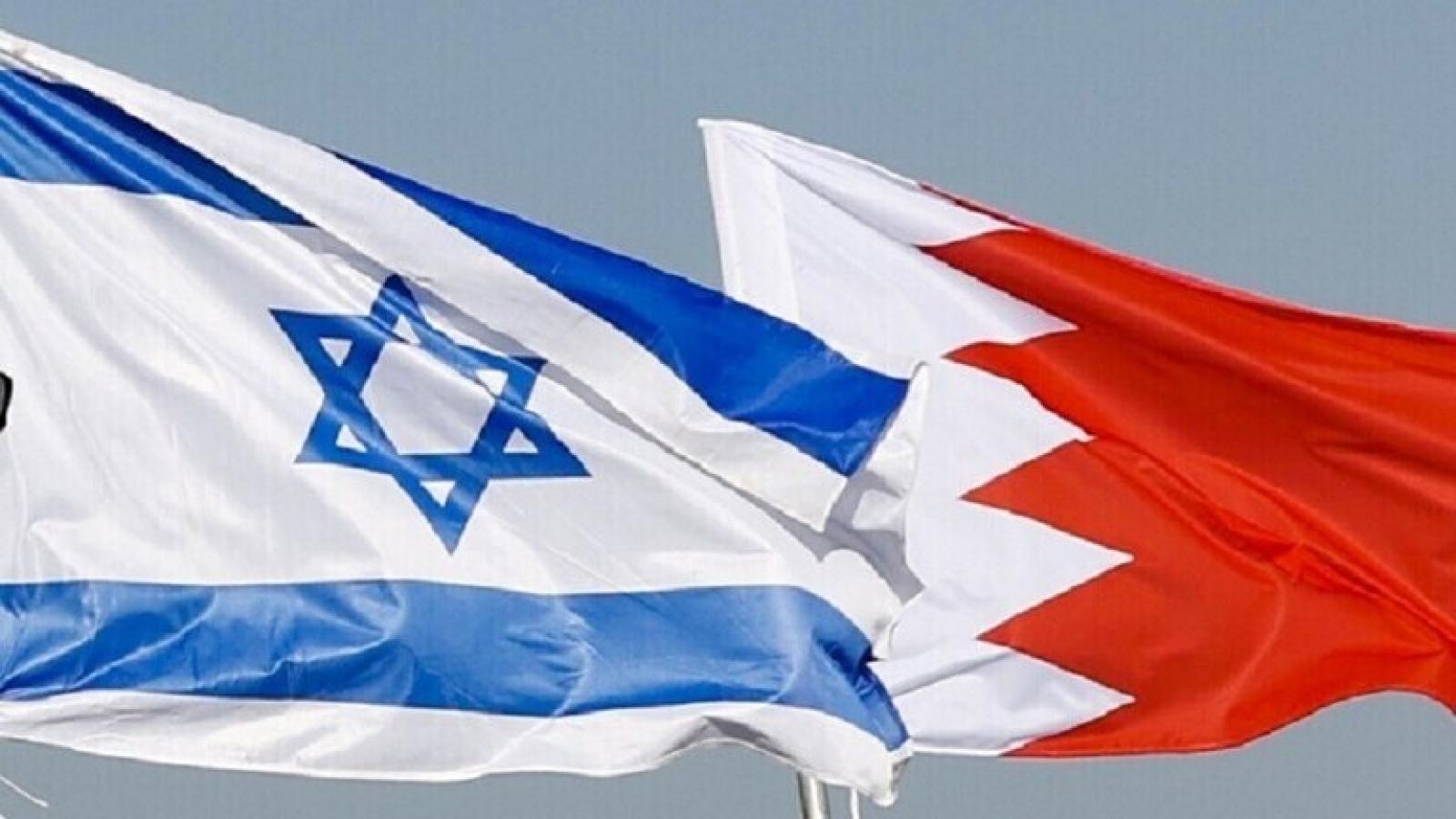 Israel và Bahrain chính thức lập quan hệ ngoại giao