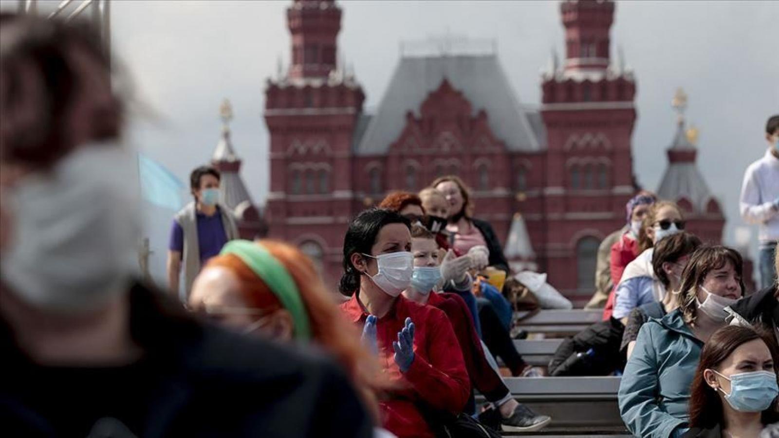 Nga ghi nhận số ca mắc và tử vong vì Covid-19 trong ngày cao kỷ lục