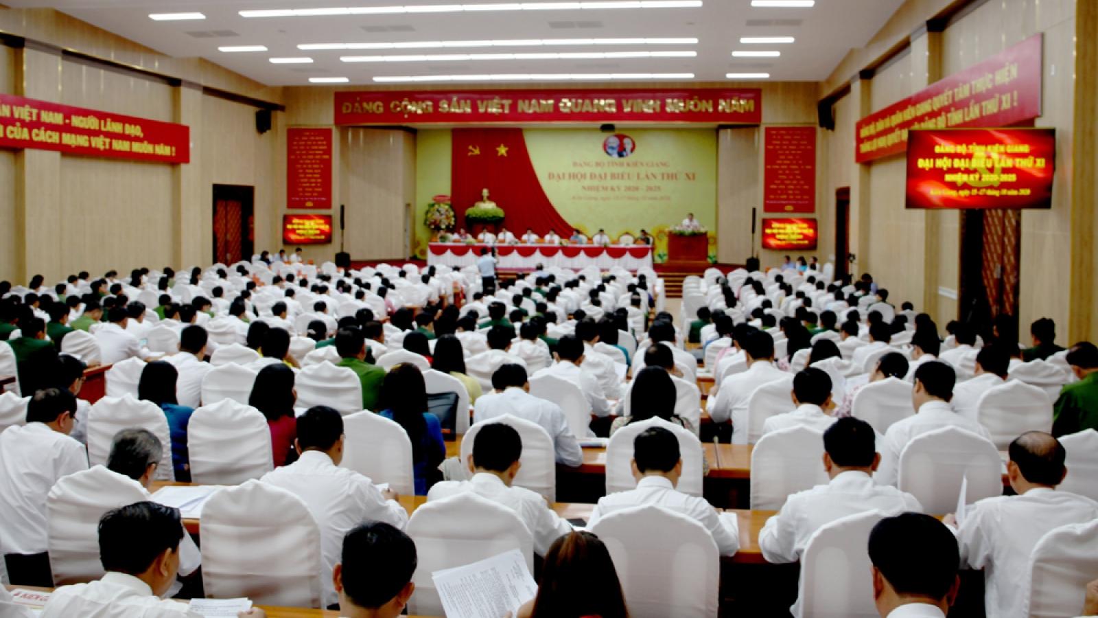 Khai mạc Đại hội đại biểu Đảng bộ tỉnh Kiên Giang lần thứ XI
