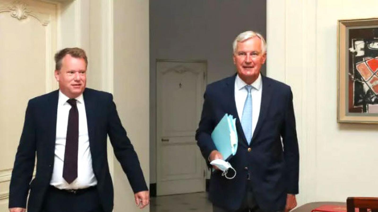 Anh nối lại đàm phán hậu Brexit sau khi EU tỏ ý nhượng bộ