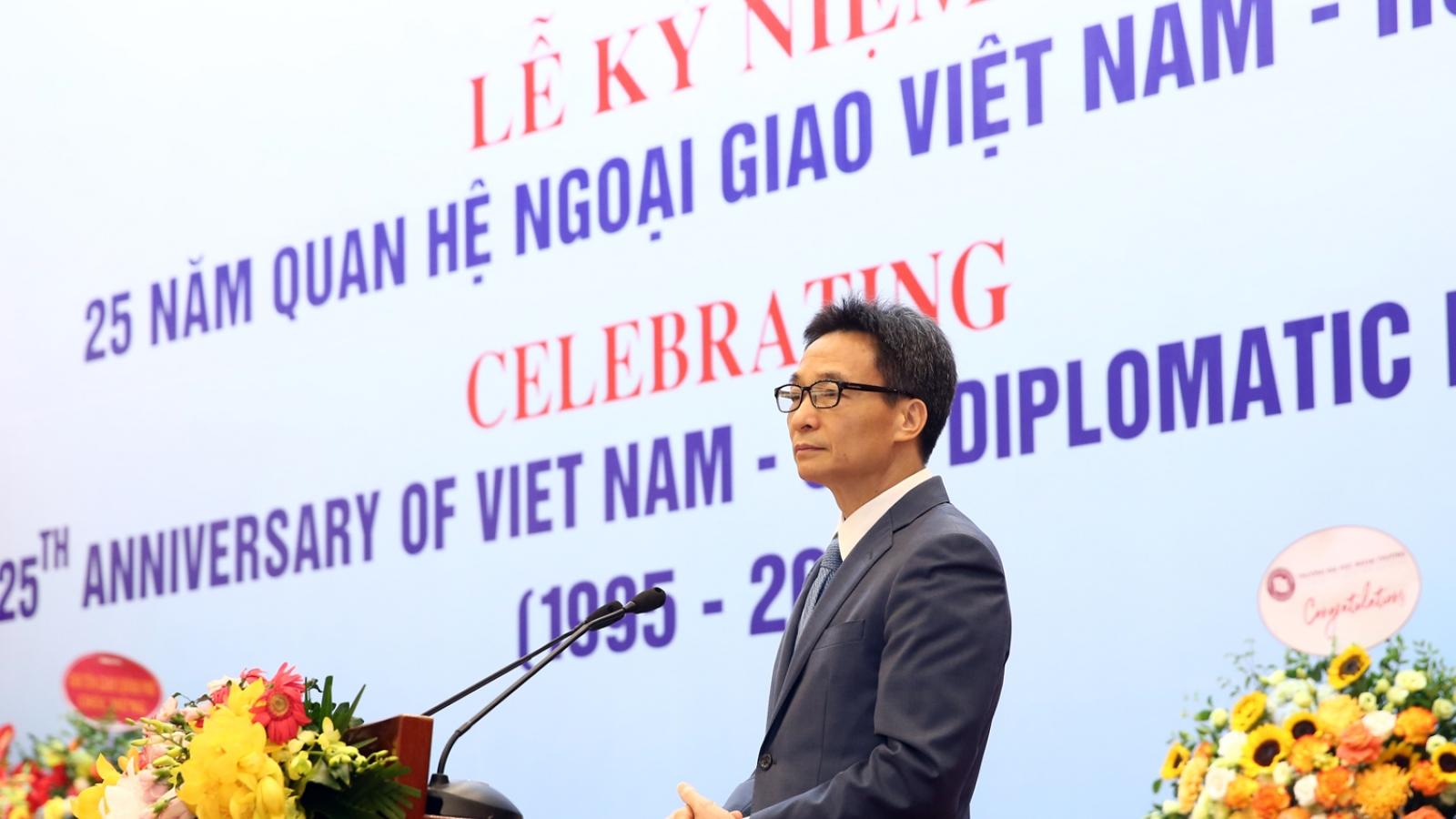 Lễ kỷ niệm 25 năm thiết lập quan hệ ngoại giao Việt Nam – Hoa Kỳ