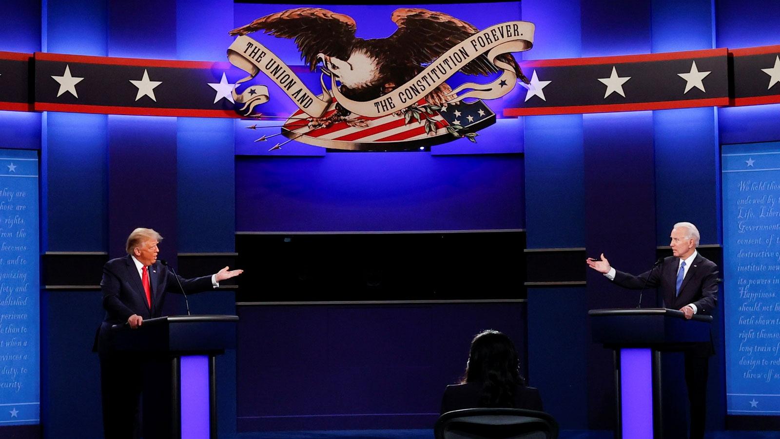 Video: Cuộc tranh luận cuối cùng Trump-Biden trước Bầu cử Mỹ 2020