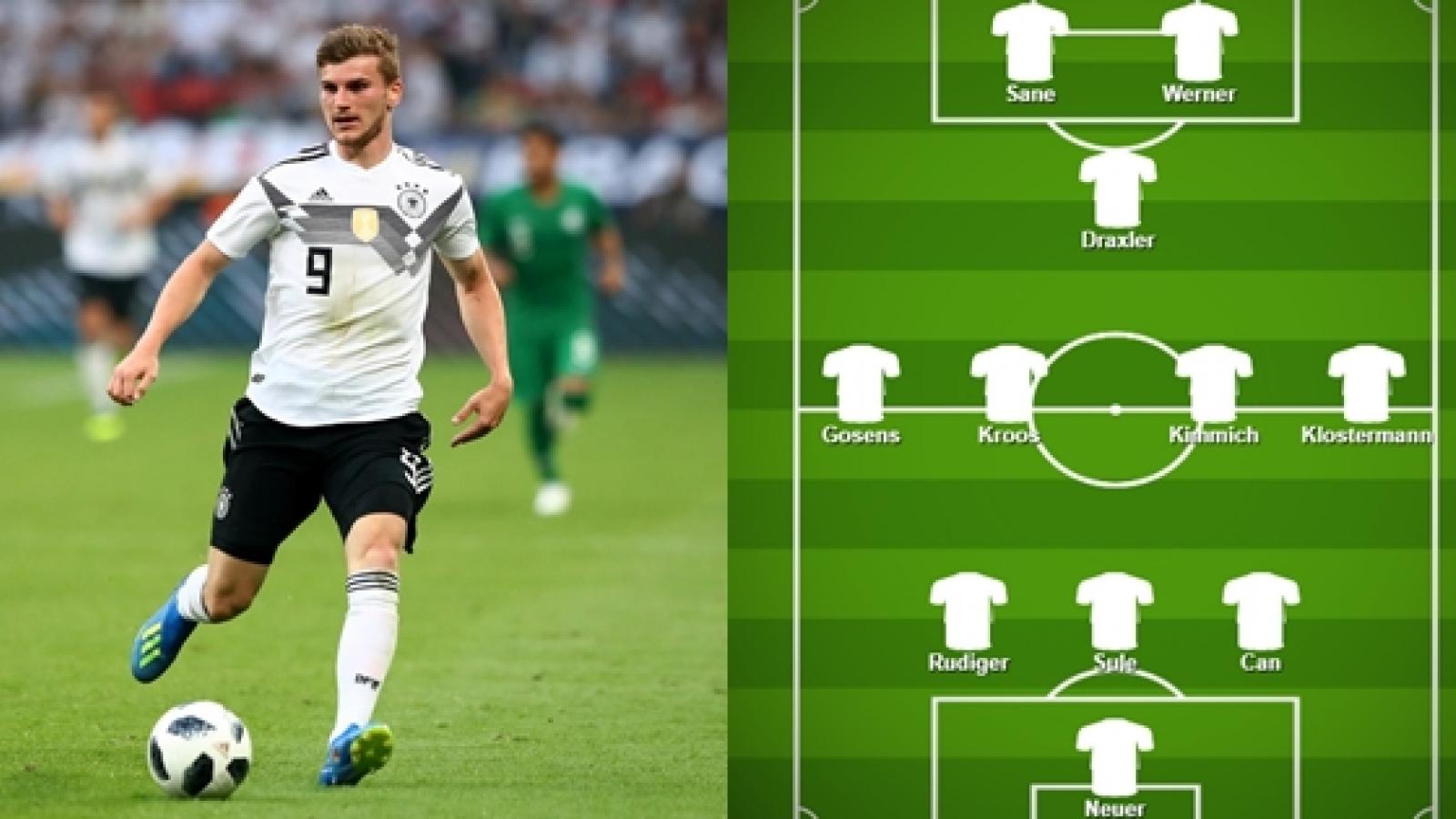 Đội hình dự kiến Ukraine - Đức: HLV Joachim Low tin dùng sơ đồ 3 hậu vệ?