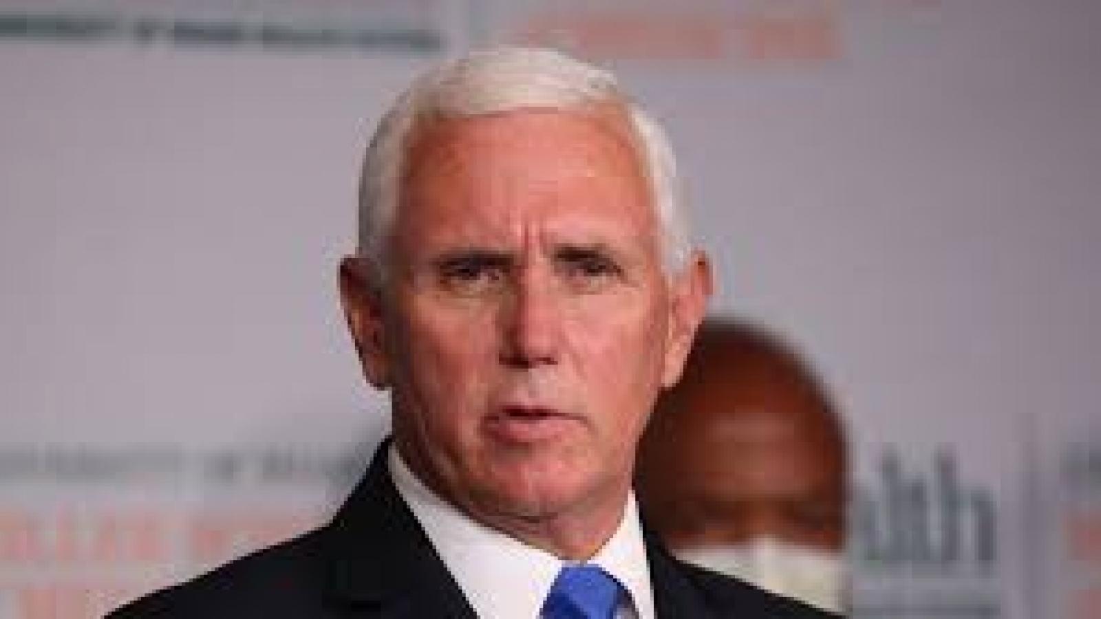Phó Tổng thống Mỹ Mike Pence bị nghi xuất hiện triệu chứng mắc Covid-19