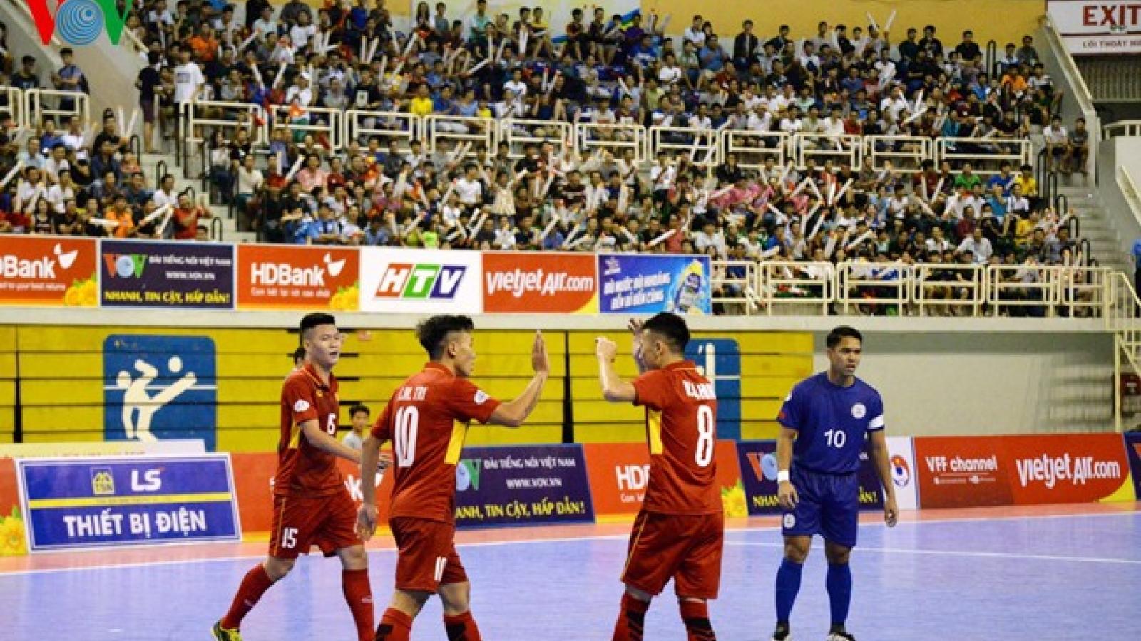 Ngày này năm xưa: ĐT Futsal Việt Nam có trận thắng đậm nhất lịch sử