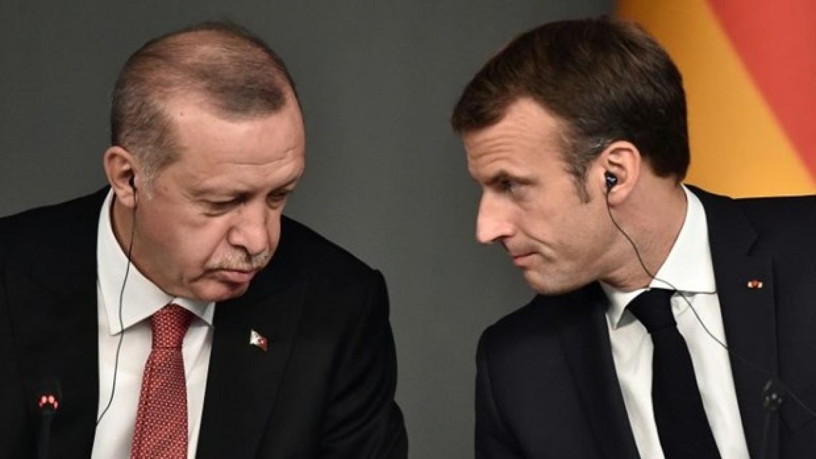 """Pháp ra tối hậu thư cho Thổ Nhĩ Kỳ, Địa Trung Hải """"sóng gió chưa yên"""""""