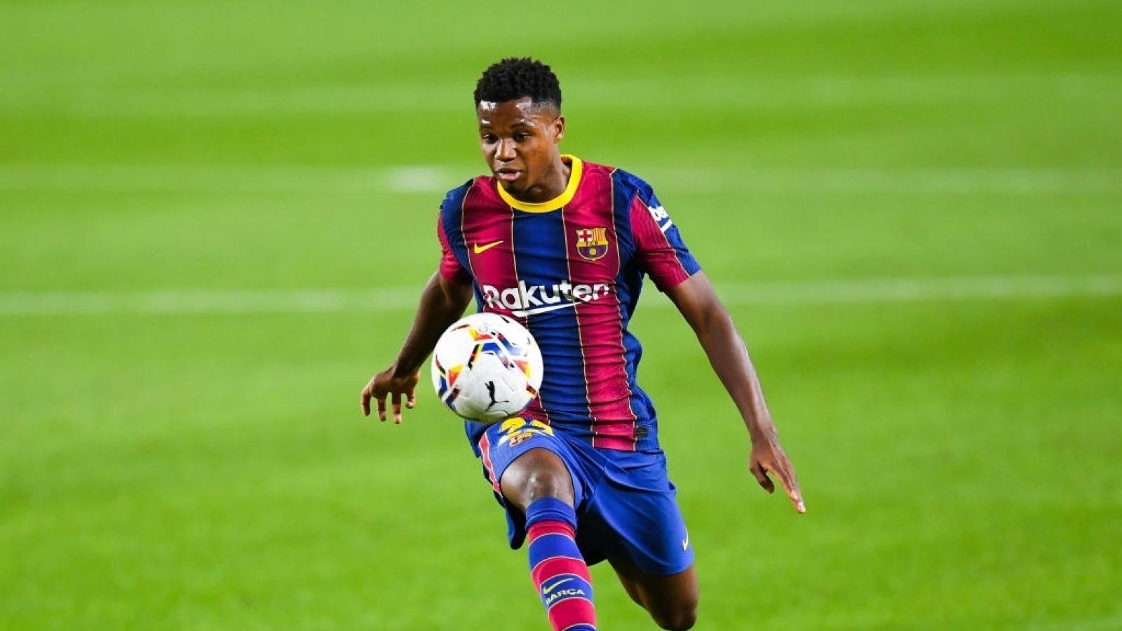 Getafe - Barca: Ansu Fati cướp sân khấu của Messi?