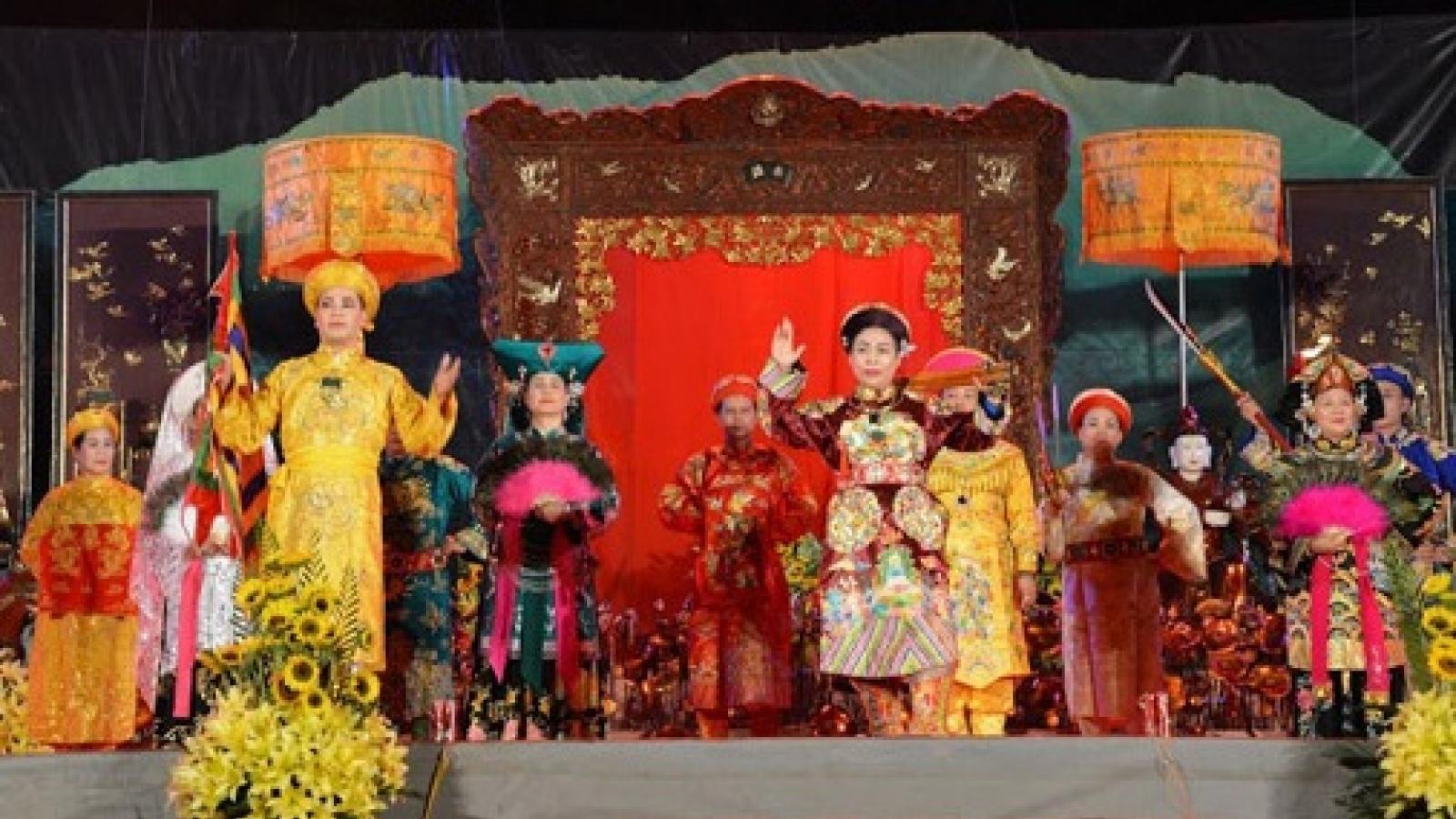 Nhiều hoạt động đặc sắc tại Festival thực hành tín ngưỡng thờ Mẫu Thượng Ngàn năm 2020