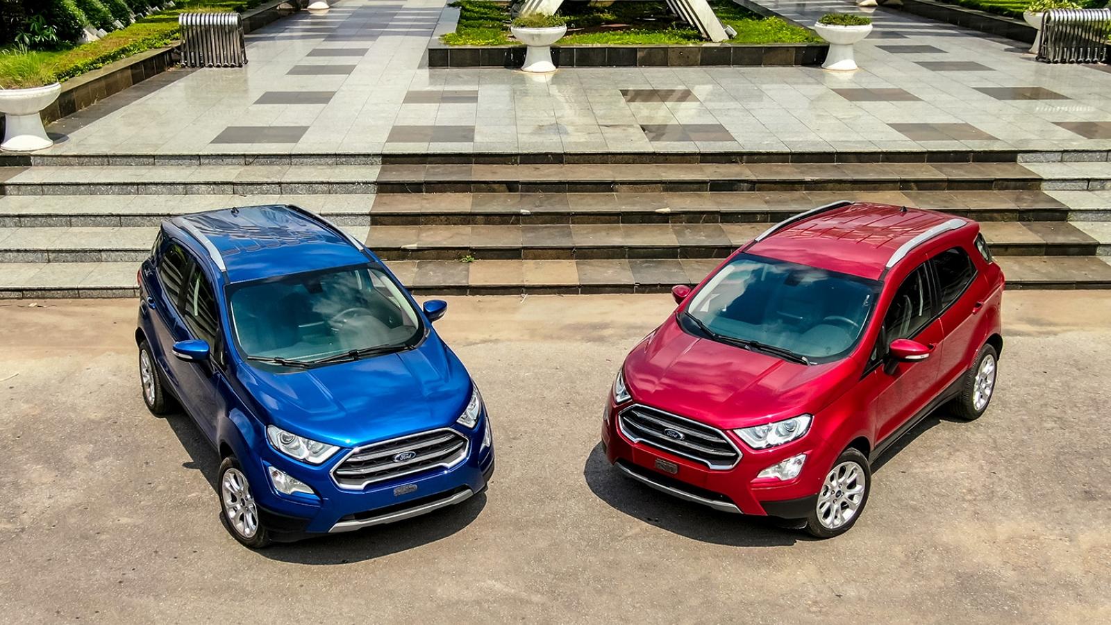 Ford EcoSport 2020 giá từ 603 triệu đồng thay đổi những gì?