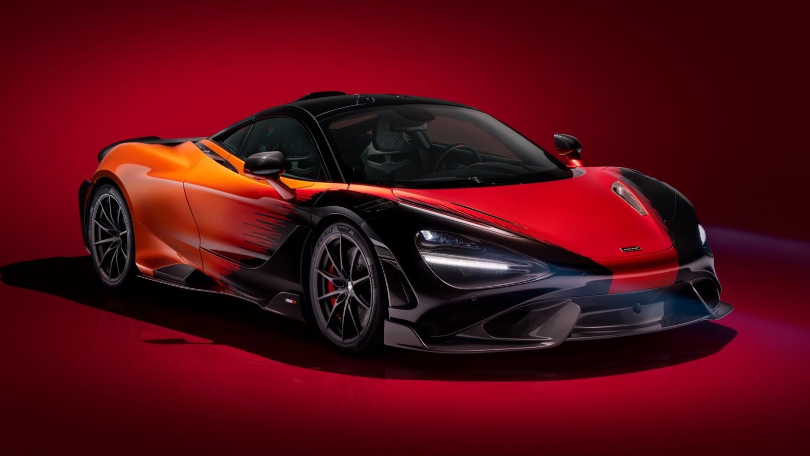 Ngắm McLaren 765LT với phối màu Strata do MSO đảm trách