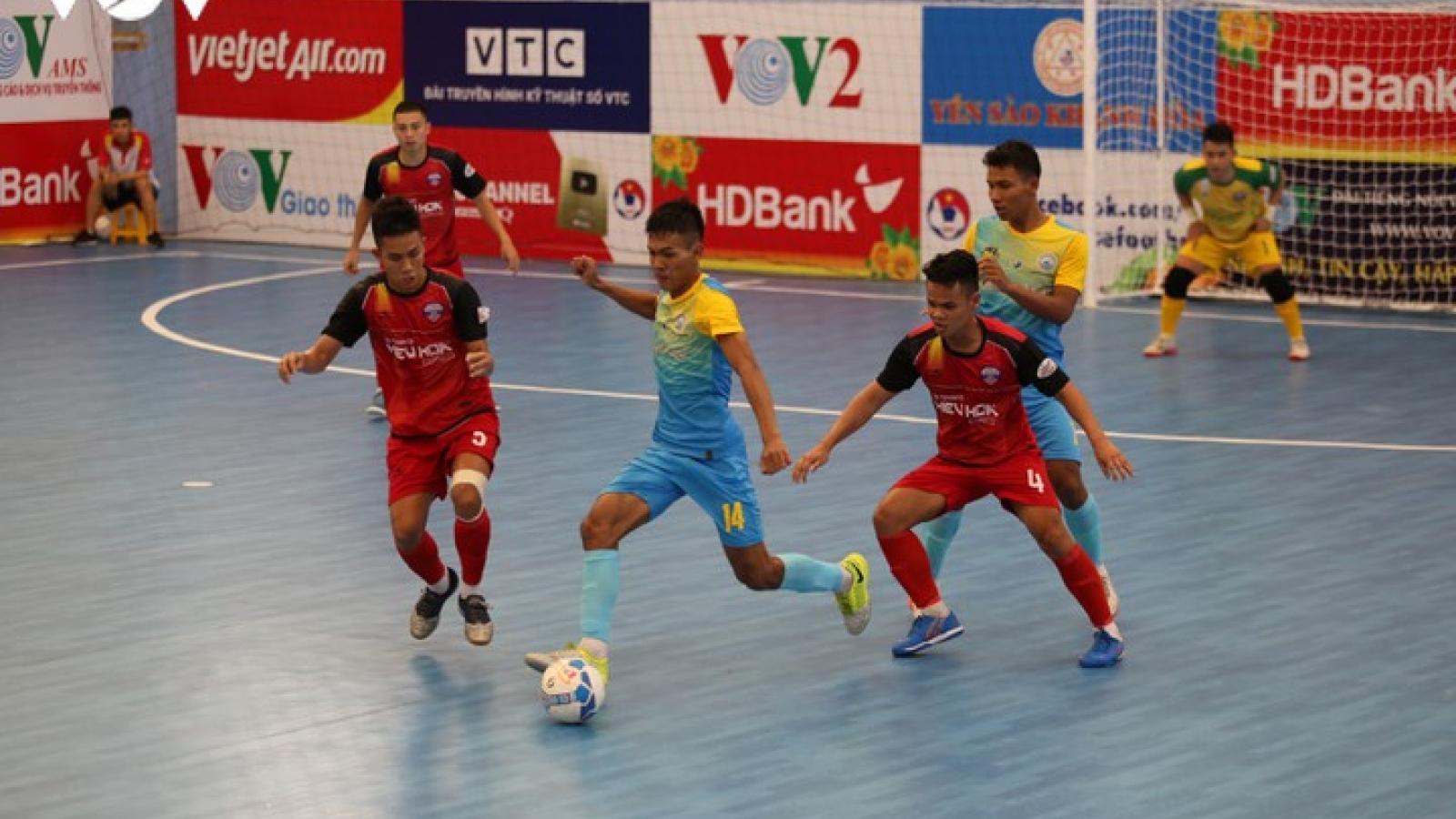 Xem trực tiếp Futsal HDBank VĐQG 2020: Đà Nẵng FC - Sanvinest Sanatech Khánh Hòa