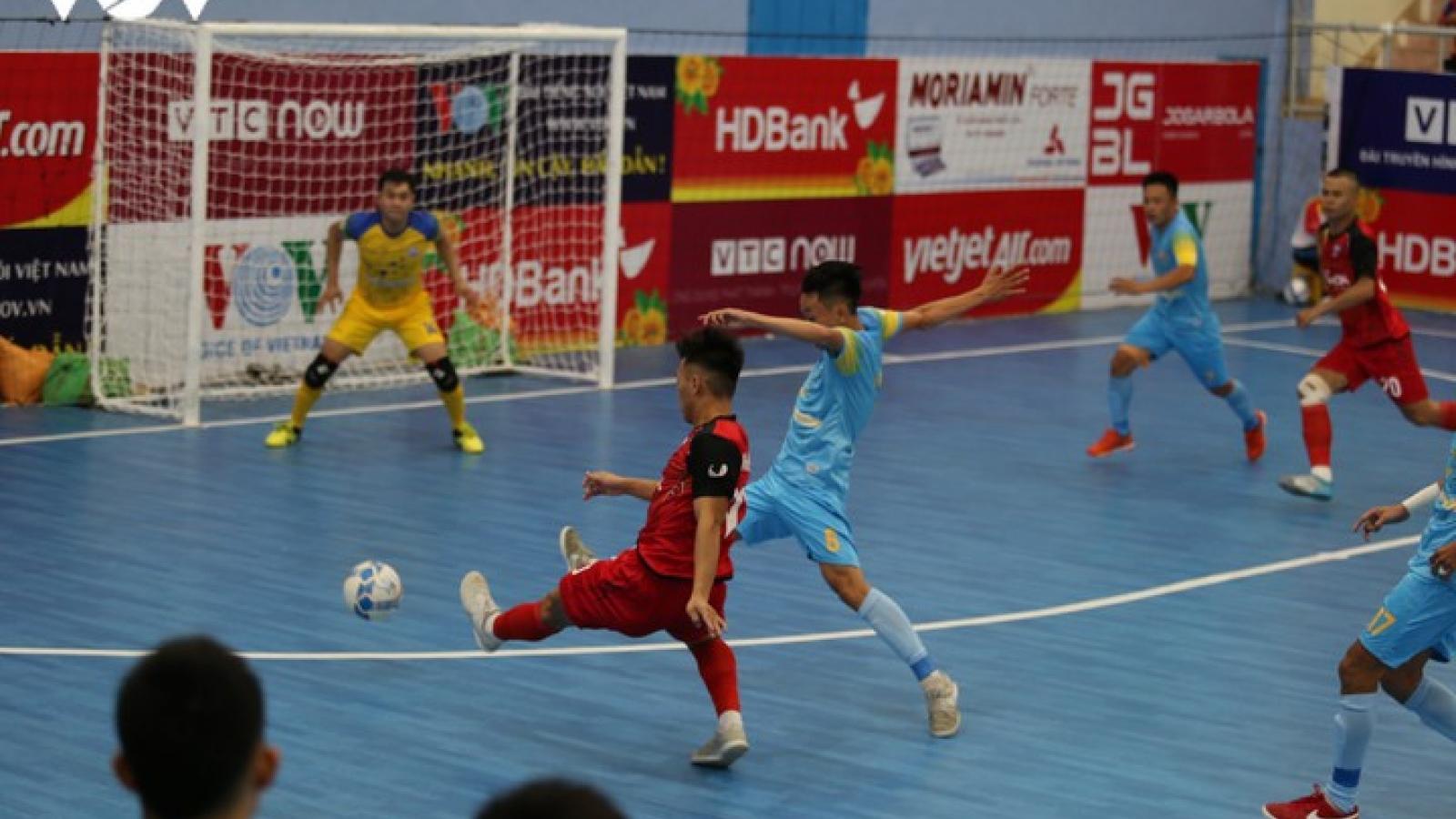 Xem trực tiếp Futsal HDBank VĐQG 2020: Vietfootball - Sanvinest Sanna Khánh Hòa