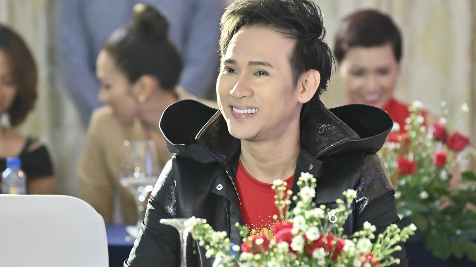 Diễn viên Hiền Mai, ca sĩ Nguyên Vũ làm giám khảo cuộc thi Hoa khôi doanh nhân