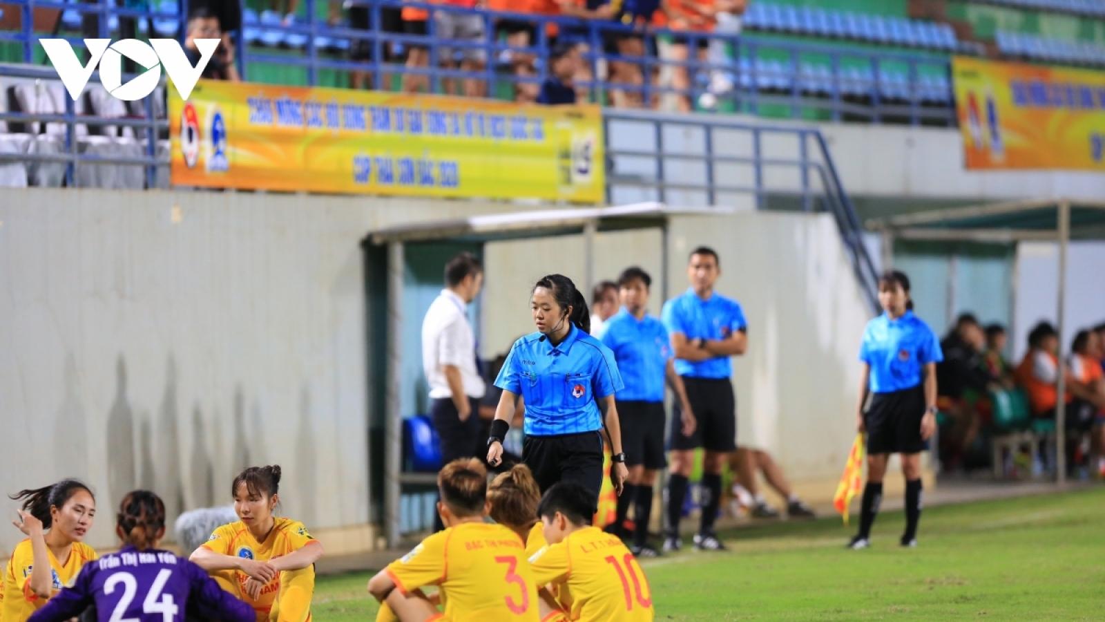 Bỏ ngang trận đấu, đội nữ Hà Nam bị xử thua 0-3, HLV bị cấm hoạt động bóng đá 5 năm