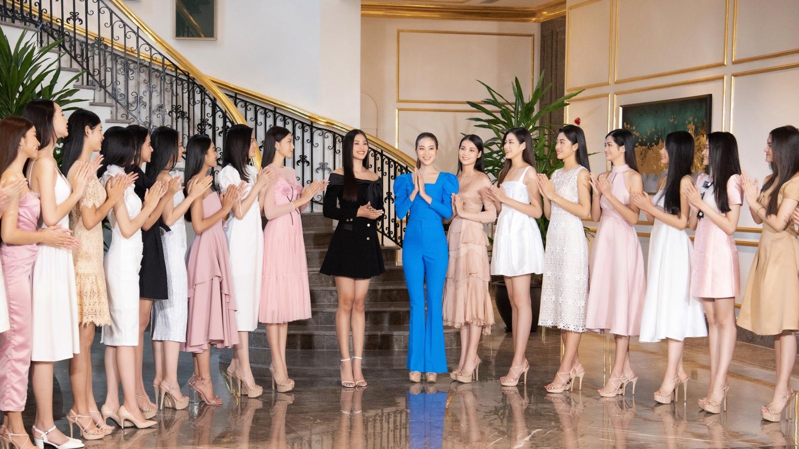 """Top 35 Hoa hậu Việt Nam 2020 bước vào hành trình đầu tiên """"Người đẹp Nhân ái"""""""